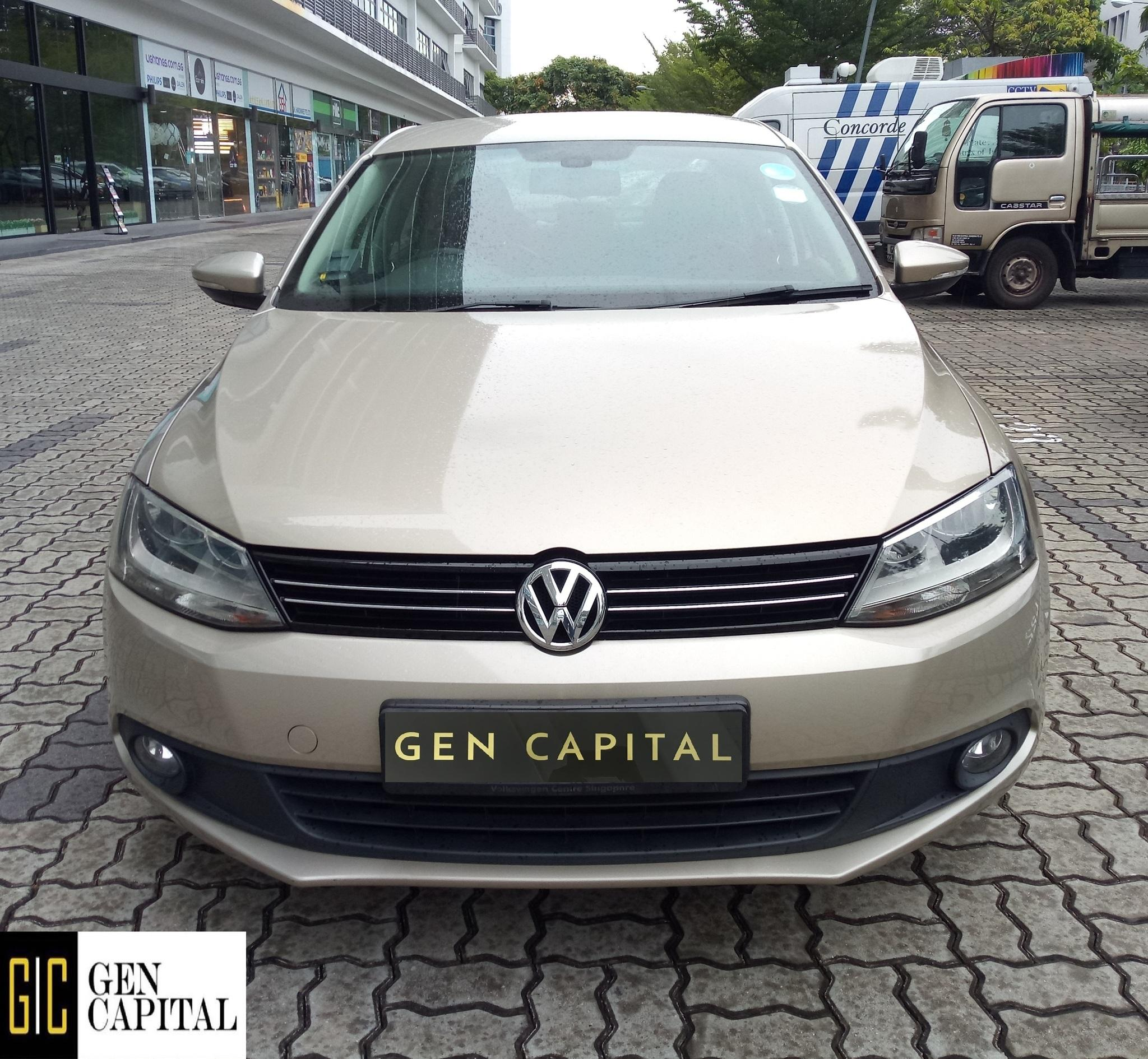 Volkswagen Jetta 1.4 TSI 2013 Superb Condition Car for Rental