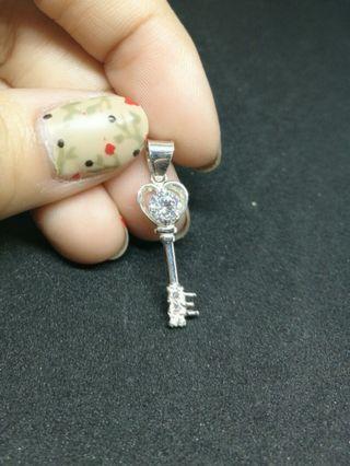 925 Silver Key Pendant