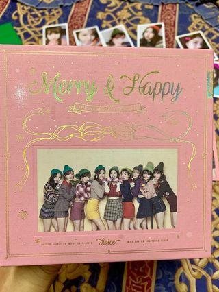 TWICE MERRY AND HAPPY ALBUM