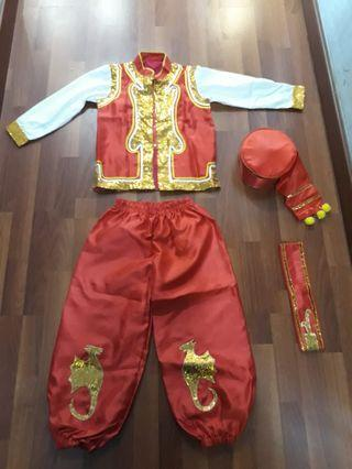 Baju dance laki laki umar 5-7 th