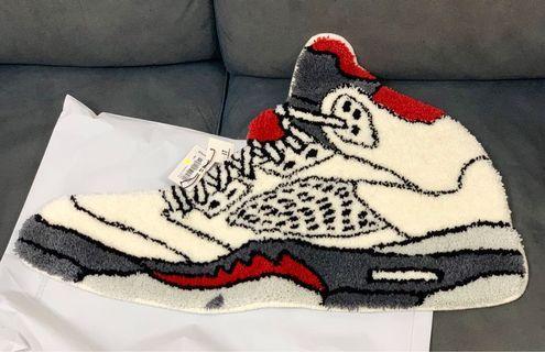 Air Jordan 5 rug 地毯 地顫 aj5