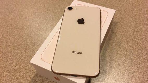 Iphone 8 64gb MY set with warranty