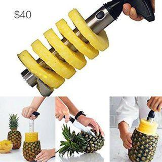 pineapple slicer 切波蘿器