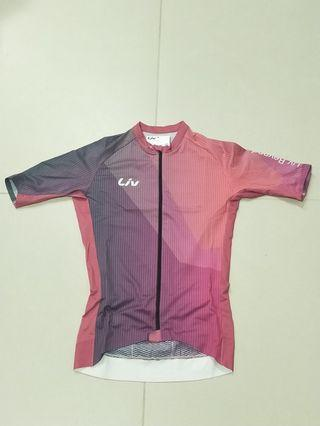 LIV Calm 2019 series pink short sleeve cycling jersey
