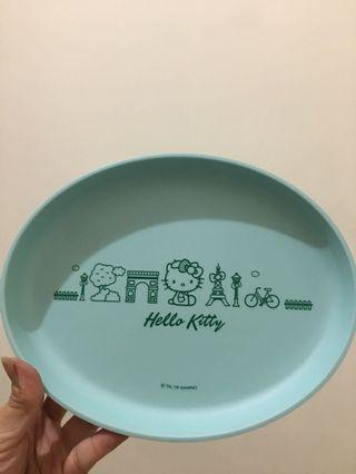 🚚 hello kitty 造型餐盤 711集點商品