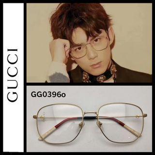 Gucci GG0396O eyeglasses metal frame