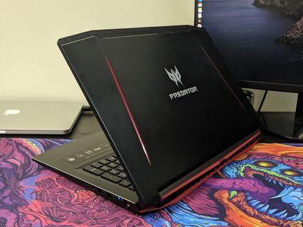 Acer Predator Helios 300 i7-8750H, GTX 1060, 16GB RAM, 144Hz Display Gaming