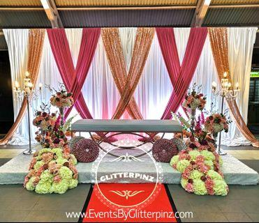 Pelamin deco & catering / wedding package