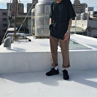 【二手】YU SELECT-優選 GRAMICCI M號咖啡色寬版腰帶長褲