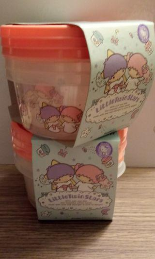 {Free NM} Set of 3! Little Twin Stars containers
