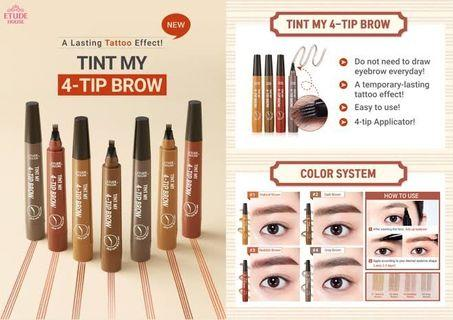 Etude Tint My 4 Tip Brow