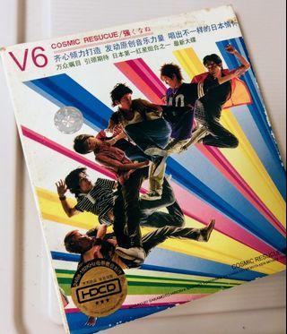 日本男子 組合V6 CD