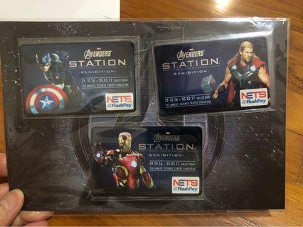 Avengers Nets flashpay card