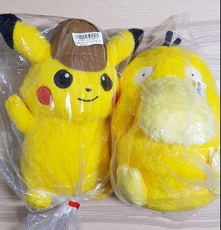 Detective Pikachu x Psyduck (pokemon)