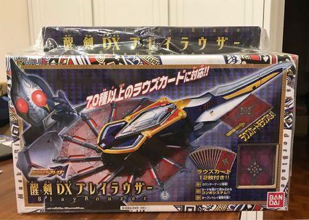 <全新><日版> 幪面超人 劍 Masked Rider Blade DX 武器 Blay Rouzer 醒劍 kamen