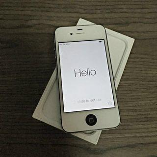 iPhone 4s 32Gb Black With replaced White screen