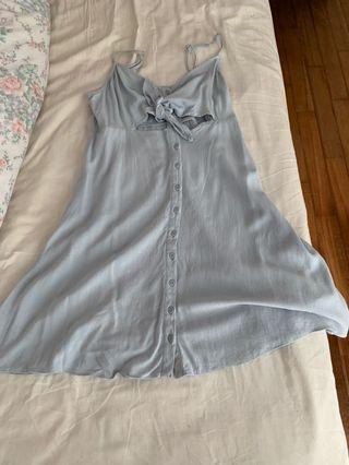 TOPSHOP baby blue dress