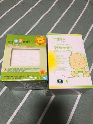SoftTouch Wipe Simba 兩用巾 棉擦巾
