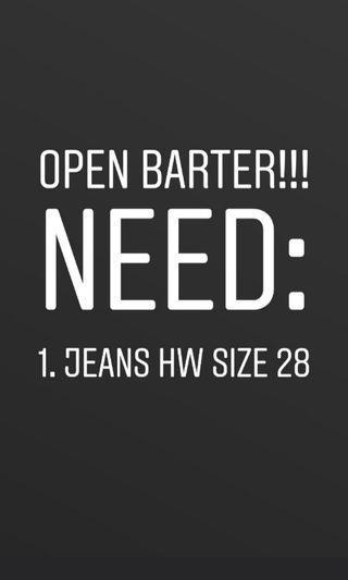 Open barter / barter yuk