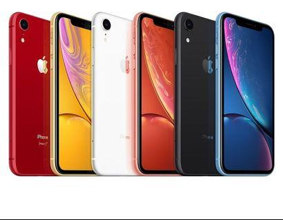 Apple IPhone XR 128GB any colour