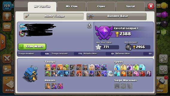 🚚 Clash of clans account TH12