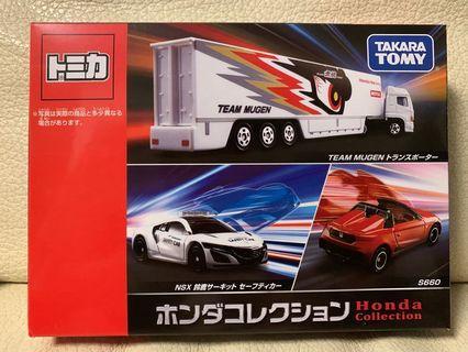 Tomica 全新日版 Honda set 本田 3車套裝 $120