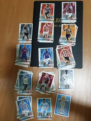 Match Attax 2014/15 Base And Special Cards