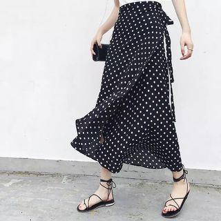 (PO) 25 Colors 2019 Bohemian High Waist Floral Print Summer Skirts Womens Boho Asymmetrical Chiffon
