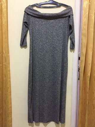 [SALE] MANGO Knit Sabrina Dress