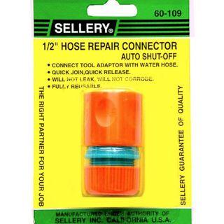 Hose repair connector