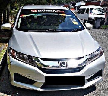 HONDA CITY 1.5(A)E SPEC CAR CONTINUE LOAN DIREC OWNER