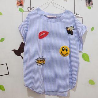 (SALE 3 HARI) J.Rep Patch Tumblr Shirt