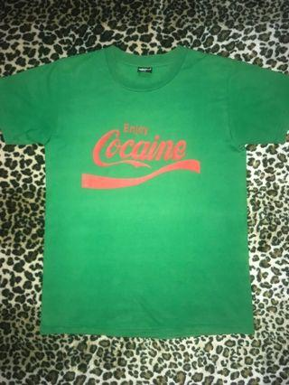 Coca Cola memes shirt Enjoy Cocaine