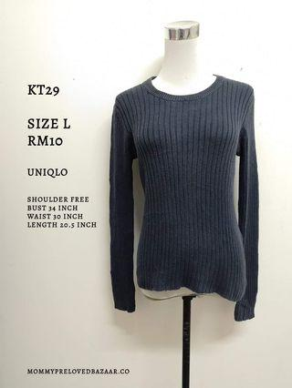 Knitted Top uniqlo