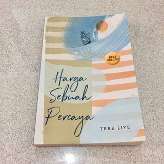 (SALE 3 HARI) Tere Liye Novel Harga Sebuah Percaya