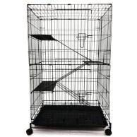 3 Level Cat Cage (Small) / Sangkar 3 Tingkat (Kecil) Wrought