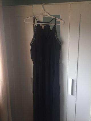 black dress definitely for going out fancy