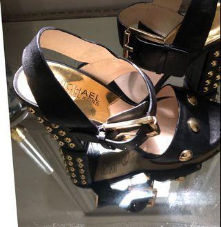 Micheal Kors studded heels size 6