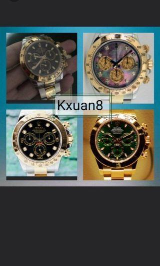 Want to buy Rolex watches, daytona, gmt master, submariner, yachtmaster, datejust