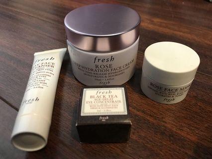 Fresh Moisturizer bundle