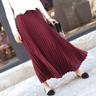 (PO) 2019 Summer Women Skirt Vintage Long Skirt Saias High Waist Women Maxi Skirt Saia Longa