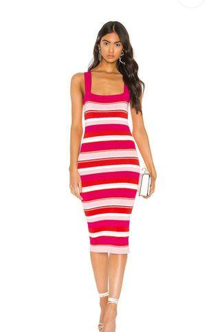 Bardot Stripe Dress - BNWTS $99