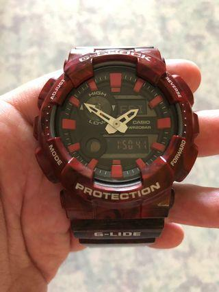 🚚 G-Shock (Glide) [GAX100MB4ADR) RED