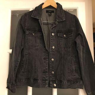 Forever 21 Black Denim Jacket