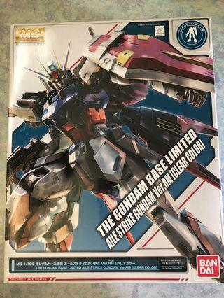🚚 AILE Strike Ver.RM (Clear Color) Gundam Base Limited