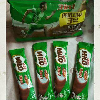 Milo Malaysia 3in1