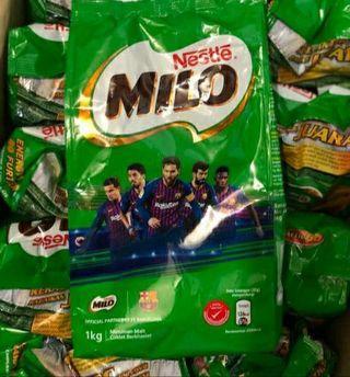 Milo 1kg malaysia exp 30 04 20