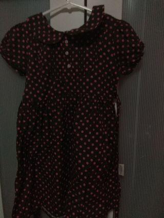 Pokka dot dress