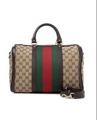 [保證真品]Gucci 經典波士頓包