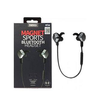 Remax S2 Bluetooth Headset Wireless Sports Earpiece Black
